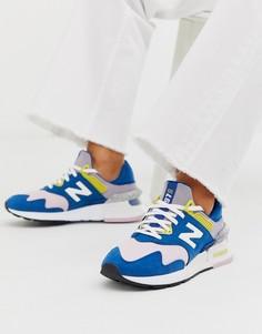 Разноцветные кроссовки New Balance 997S-Мульти