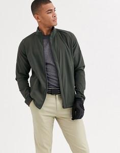 Куртка хаки adidas Golf - Softshell-Зеленый