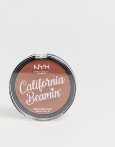 Бронзатор для лица и тела NYX Professional Makeup California Beamin - Beach Bum-Коричневый