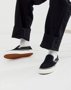 Черные кеды-слипоны Vans Anaheim-Черный
