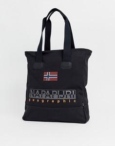 Черная сумка-тоут Napapijri Sporta-Черный