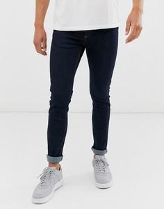 Синие джинсы скинни Topman-Синий