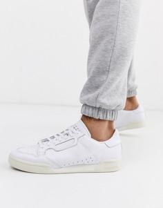 Белые кроссовки adidas Originals continental 80 x home of classics-Белый