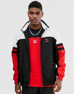 Красная спортивная куртка с логотипом Puma-Красный