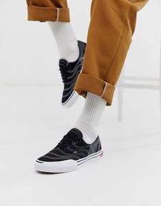 Черные кроссовки Vans Era 3ra-Черный