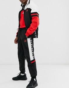 Черные джоггеры с логотипом Puma-Черный
