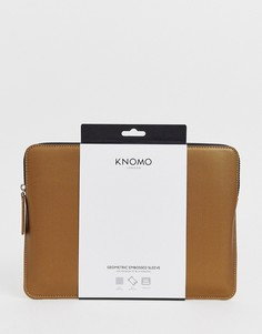 Золотистая сумка для ноутбука Knomo - 12 n-Золотой
