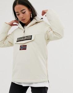 Кремовая куртка Napapijri Rainforest Winter 3-Кремовый