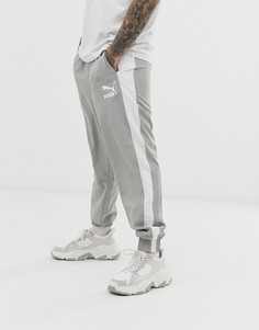 Серые спортивные штаны Puma iconic-Серый
