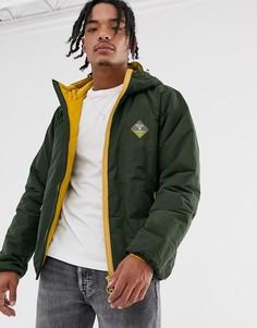 Куртка на молнии Barbour Beacon Leith-Зеленый