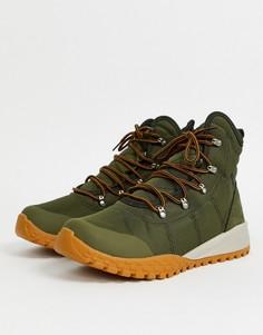 Зеленые походные ботинки Columbia Fairbanks Omni-heat-Зеленый