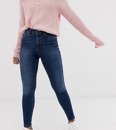 Темно-синие моделирующие джинсы скинни Vero Moda Petite-Синий