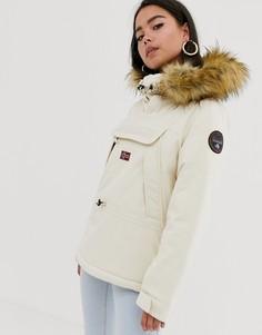 Куртка кремового цвета Napapijri - Skidoo 2-Кремовый