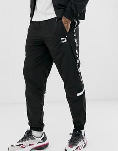 Черные джоггеры Puma XTG-Черный