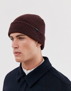 Мягкая вязаная шапка-бини French Connection-Красный