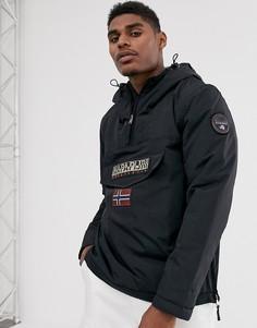 Черная куртка Napapijri Rainforest Winter 1-Черный