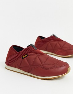 Красные слиперы TEVA Ember Moc-Красный