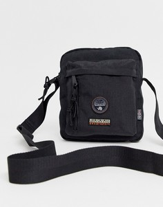 Черная сумка для полетов через плечо Napapijri - Hoyage-Черный