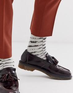 Черно-белые короткие носки с принтом тай-дай ASOS DESIGN-Мульти