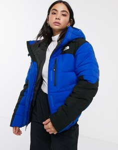 Синяя дутая куртка The North Face Himalayan-Синий