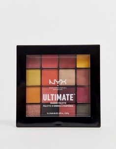Палитра теней для век NYX Professional Makeup Ultimate - Phoenix-Мульти