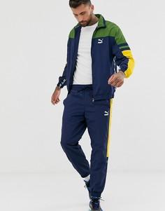 Темно-синяя тканая спортивная куртка Puma XTG-Темно-синий
