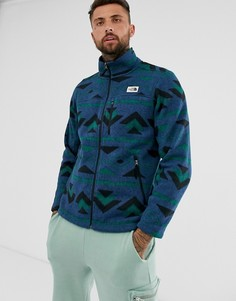 Синяя флисовая куртка на молнии The North Face Gordon Lyons-Синий