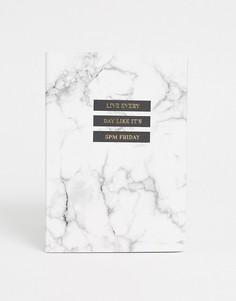 Недатированный ежедневник формата A5 Typo-Мульти