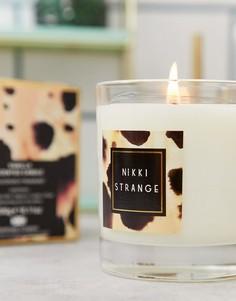 Свеча с ароматом ванили Nikki Strange wild life-Мульти