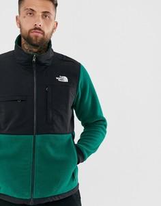 Темно-зеленая куртка The North Face-Зеленый