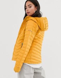 Желтая куртка с капюшоном Columbia Powder Lite-Желтый