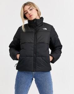 Черная дутая куртка The North Face Saikuru-Черный