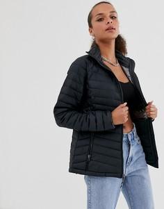 Черная куртка Columbia Powder Lite-Черный