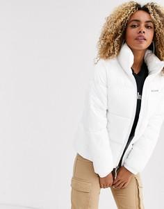 Белая куртка Columbia Puffect-Белый