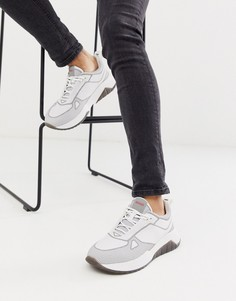 Белые кроссовки HUGO Atom Runn-Белый