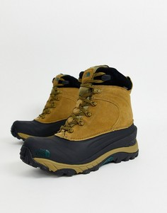 Коричневые ботинки The North Face - Chilkat-Зеленый