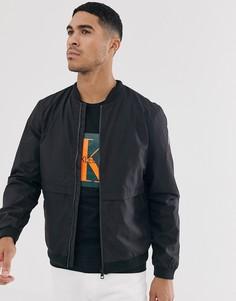 Бомбер Calvin Klein Jeans-Черный