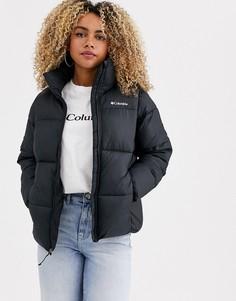 Черная куртка Columbia Puffect-Черный