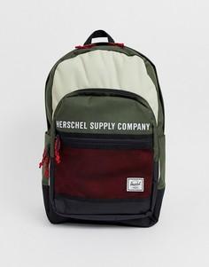Рюкзак объемом 30 л в стиле колор блок Herschel Supply Co Kaine-Мульти