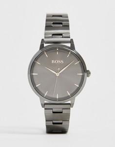 Наручные часы цвета пушечной бронзы BOSS 1502503 Marina-Серый