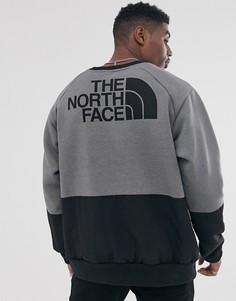 Серый свитшот с длинными рукавами The North Face