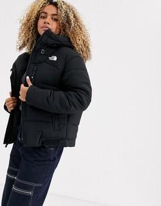Черная дутая куртка The North Face Himalayan-Черный