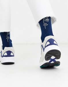 Спортивные носки ASOS DESIGN-Синий