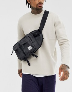 Черный рюкзак объемом 6 литров Herschel Supply Co Eighteen