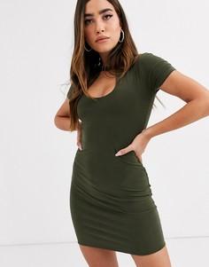 Облегающее платье New Girl Order-Зеленый