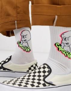 Спортивные носки с принтом привидения Casper от ASOS DESIGN-Белый