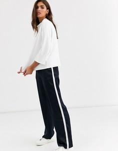 Широкие брюки Vila-Темно-синий