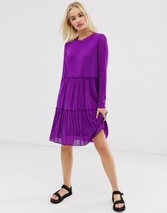 Прозрачное платье Moves by Minimum-Фиолетовый