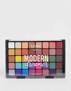 Палетка теней для век NYX Professional Makeup Modern Dreamer-Красный