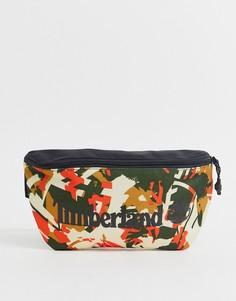 Сумка-кошелек на пояс с камуфляжным принтом и логотипом Timberland-Мульти